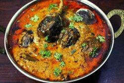 VEGAN Chettinad Eggplant Masala