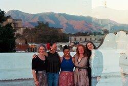 our retreat group in oaxaca