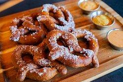 Deep Fried Pretzels   $6 on Hoppy Mondays only!