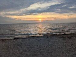 Sunrise from the boardwalk