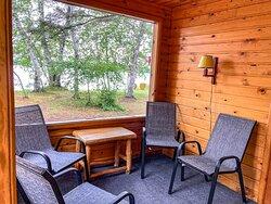 Cabin 6 Screen Porch