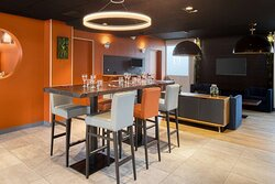Lounge/restaurant - Hôtel Hotelio