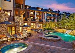 The Sebastian Mountain View Pool and Hot Tubs