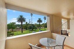 Balcony in guest room