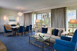 The Trump Spa Grand Suite Living Room TND