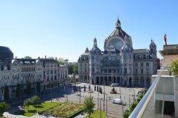 View from Hotel Indigo Antwerp City Centre