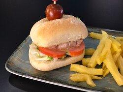 Minihamburguesa de Atún