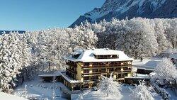 Die Villa Buchenhain im Winter