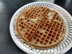 Excellent waffle.