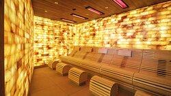 Infrarotsalzgrotte in der Larimar Saunawelt