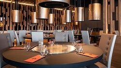 Restaurant Grill Teppanyaki Style de FunPlanet Rennaz