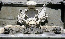 Fontana di papa Giulio III in Via Flaminia.