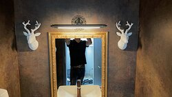 Restaurant Heimat Toilette Herren