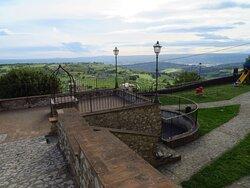 Il punto panoramico di Orto Ungari