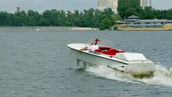 Kyiv Hydrofoil Volga Cruises by Dnieper River on speed of up to 60 km/h