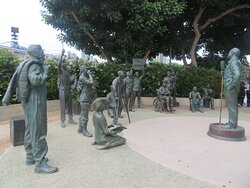 Beautiful group of Statues