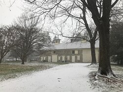 Carriage House in snow