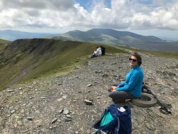Summit view, with Skiddaw beyond