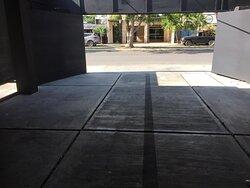 Foto del exterior de la sucursal :)
