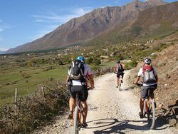 We offer bikes and organized cycling tours.
