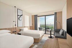 Premier Twin Room with Balcony and View