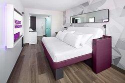 Premium King cabin bedroom