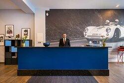 Reception Novum Hotel Bruy Stuttgart