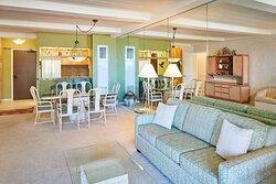 Aston at The Whaler on Kaanapali Beach - 1 Bedroom 1 Bathroom Ocean View Living Area