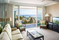 Aston at The Whaler on Kaanapali Beach - Living Room