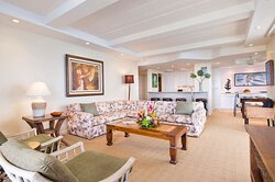 Aston at The Whaler on Kaanapali Beach - 2 Bedroom 2 Bath Oceanfront Living Area