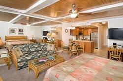 Aston at The Whaler on Kaanapali Beach -  Premium Studio Garden Bedroom
