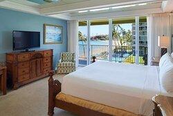 Aston at The Whaler on Kaanapali Beach 2 Bedroom 2 Bathroom Oceanfront Premium - Master Bedroom
