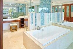 Aston at The Whaler on Kaanapali Beach 2 Bedroom 2 Bathroom Oceanfront Premium - Master Bathroom