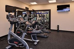 Health club  fitness center  gym