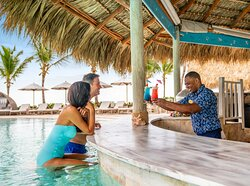 Sanctuary Cap Cana Swim Up Bar Service