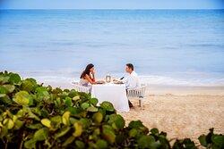 Sanctuary Cap Cana Private Beach Dinner