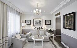 Livingroom Deluxe Junior Suite