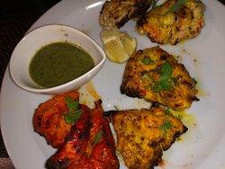 Lemon Chicken and Tandoori Chicken