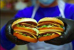 Double Burger Chamas Burger Arras