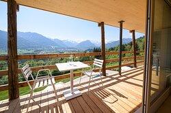 Balkon Ferienwohung Halali