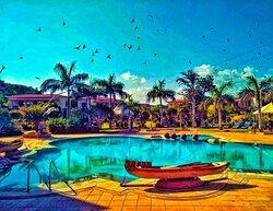 Marugarh Resort Pool Area