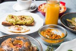 A La Carte breakfast in Zampano Resaurant