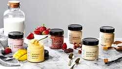 Ice cream made only with the finest Greek milk and selected natural ingredients creating delightfully surprising flavour combinations of fruit, spices and nuts. A traditional production method is used, resulting in premium ice cream with a unique delicious texture.