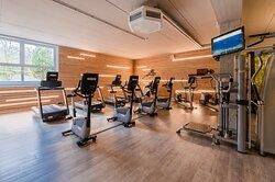 Caridobereich des Fitnesstudios