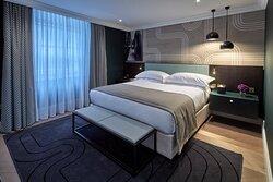 Superior One Bedroom Apartment bedroom