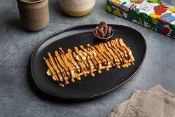 Crepe Guloso - (Banana, Manteiga de amendoim e Chocolate Valrhona)