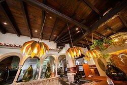 Detalles decorativos. Restaurante Emiliano.