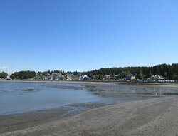 La plage de l'Anse-aux-Coques