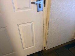 The filthy front door