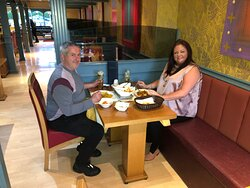 Tonight we had such lovely couple who are from Liverpool, who have kindly made a choice of choosing us for their evening dinner! We want to thank you guys for dining in with us and we hope you had a wonderful evening at the Bengal Brasserie!